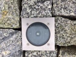 Solarleuchte für Granitpflaster