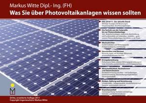 Markus Witte Photovoltaik und Photovoltaikanlagen