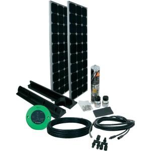 Phaesun Solar-Set Komplett Kit 2x 100 W 12 V