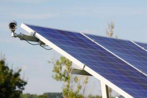 Photovoltaik Diebstahl vorbeugen mit Kamera