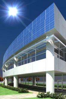 Photovoltaik Fassade