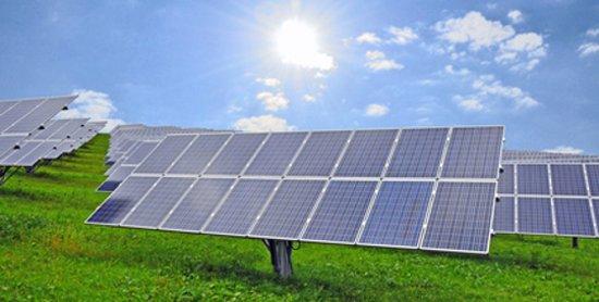 Photovoltaik Freiflächenanlage