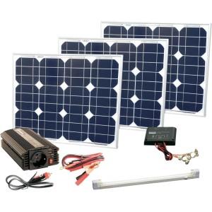 Solar Trend 90 Watt Solarstrom Powerset Leistung 3x 30 W