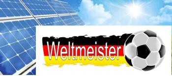 Solarenergie bei Fussball WM Brasilien