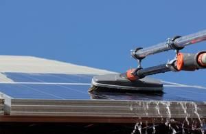 Reinigung der Solaranlage