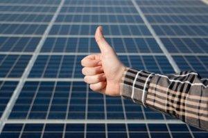 Wartung einer Photovoltaikanlage