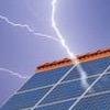 Blitzschutz für PV-Anlagen
